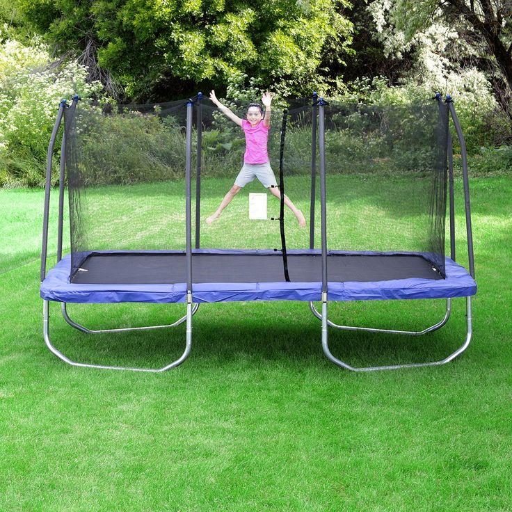 25 best rectangle trampoline ideas on pinterest backyard trampoline