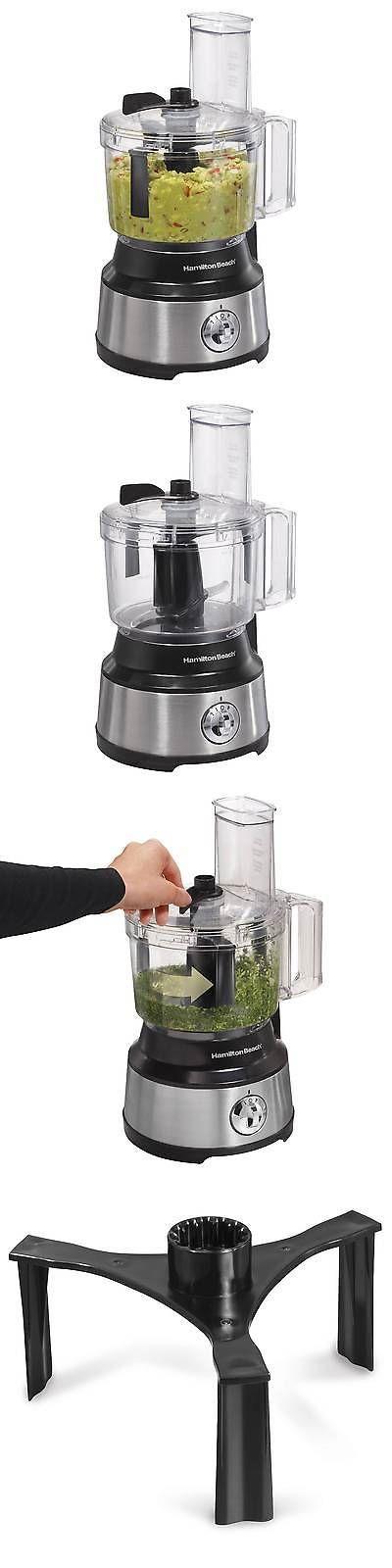 Small Kitchen Appliances: Hamilton Beach Bowl Scraper 10 Cup Food Processor - Black 70730 -> BUY IT NOW ONLY: $37.49 on eBay!