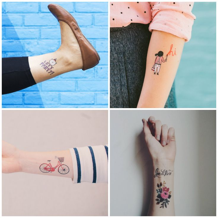 #tattoo #calcomanía #tattly