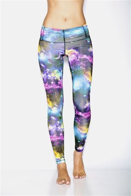 Galaxy coloured leggings. Some of our stock we get in smaller sizes for teens. These included. They are fabulous. From LA and available in the UK from www.setbangpretty.com at £52 with free UK P
