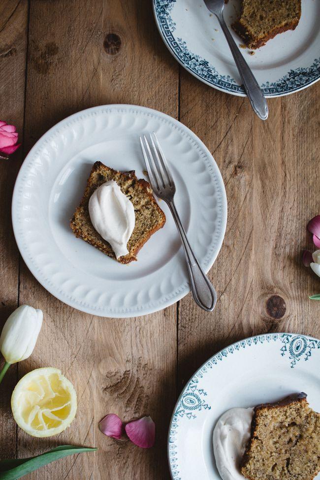 *Cake* Citron *&* Earl Grey - Carnet de printemps
