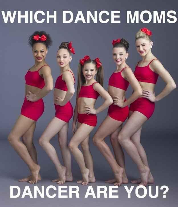 """Which """"Dance Moms"""" Dancer Are You... I GOT MADDIE ZIEGLER!!!"""