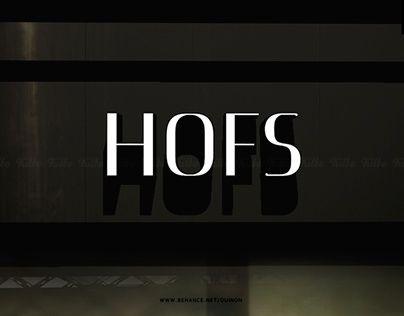 "Check out new work on my @Behance portfolio: ""LOGO Design_HOFS"" http://be.net/gallery/33106911/LOGO-Design_HOFS"