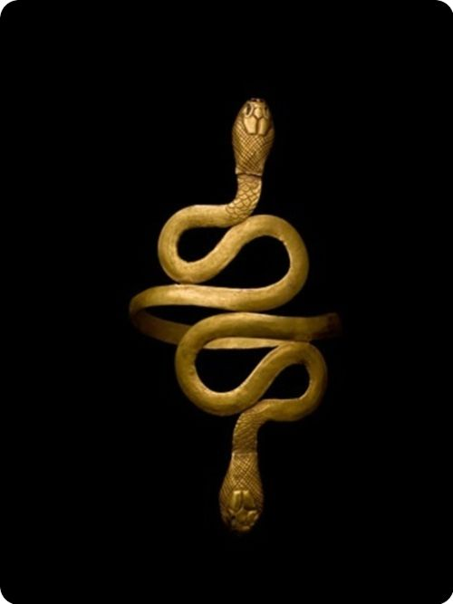 Cleopatra's bangle… from ancient Egypt. High Priestess #priestess #sorcerysoap