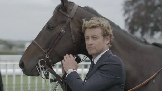 "Longines with Simon Baker  ""Beautiful watch. Beautiful commercial. Beautiful horse. Beautiful man. How could you go wrong?"" Karen Iffert"