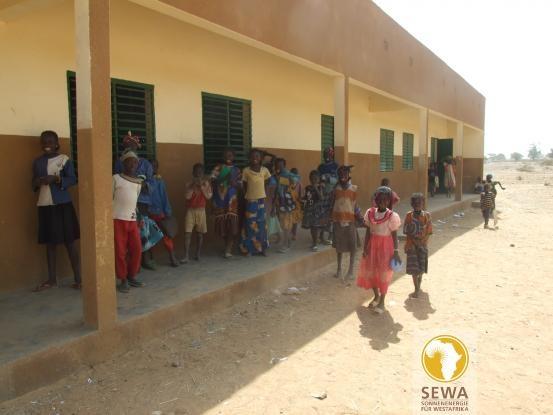 School Break in  Burkina Faso, West Africa