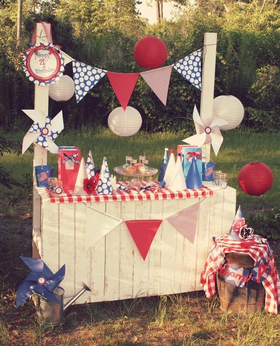 Setting The Scene For 4th Of July – 15 Fantastic Parties — Celebrations at Home