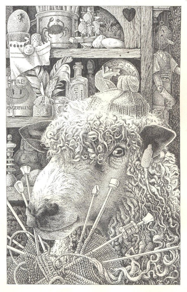 knitting sheep by ~maryanne42 on deviantART: