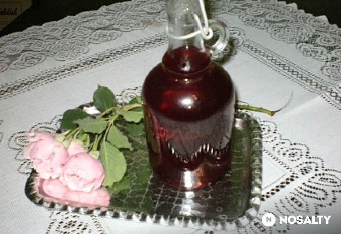 Rózsaszirup