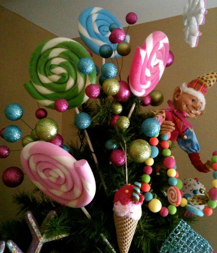 Copete de arbol de navidad favoritos lupita pinterest - Decoraciones del arbol de navidad ...