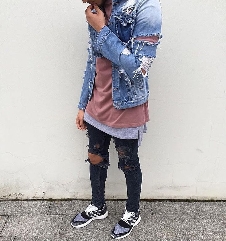 Urban street fashion men