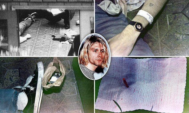 Kurt Cobain's family in court fight to keep death-scene photos private