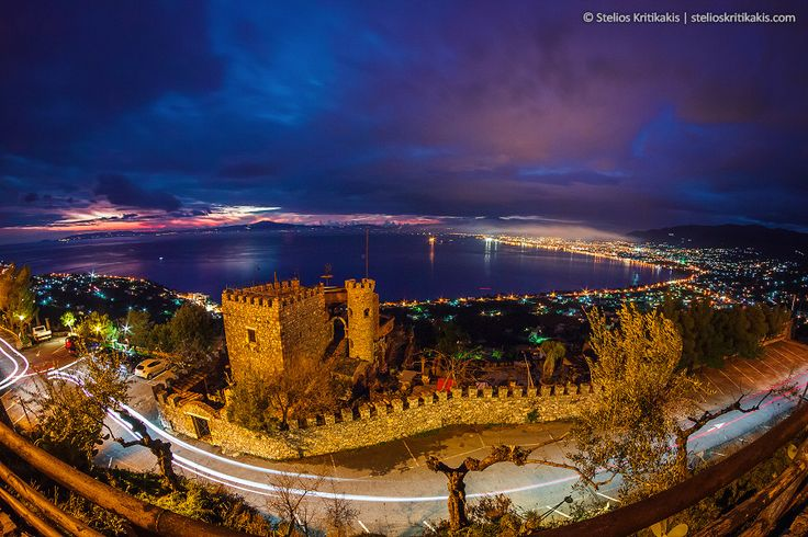 A castle at the end of the world by Stelios  Kritikakis on 500px