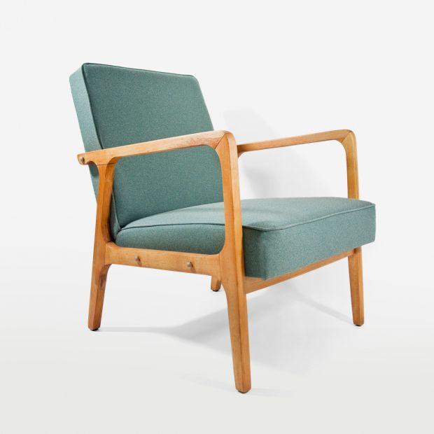 60s70s Armchair Rare Unseen Model Fotel Lata 6070