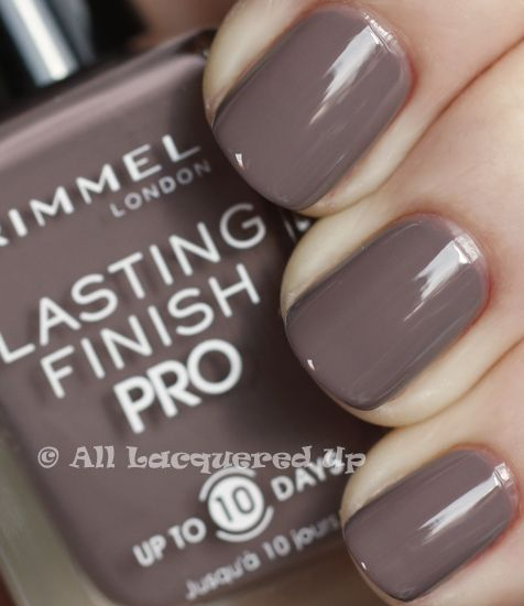 Rimmel London Steel Gray-Best nail polish ever!  It doesn't quite last the 10 days it says it does but it's pretty darn close!  Stays much better than OPI or Essie.