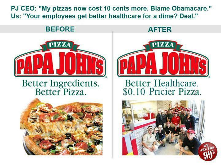 From Chicken to Pizza: Papa John's, Obamacare, and the Intelligent Consumer