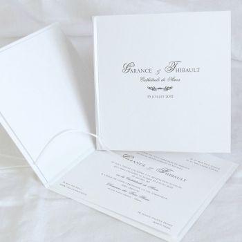Faire part de mariage Régence, Editions Créatives EC-M067