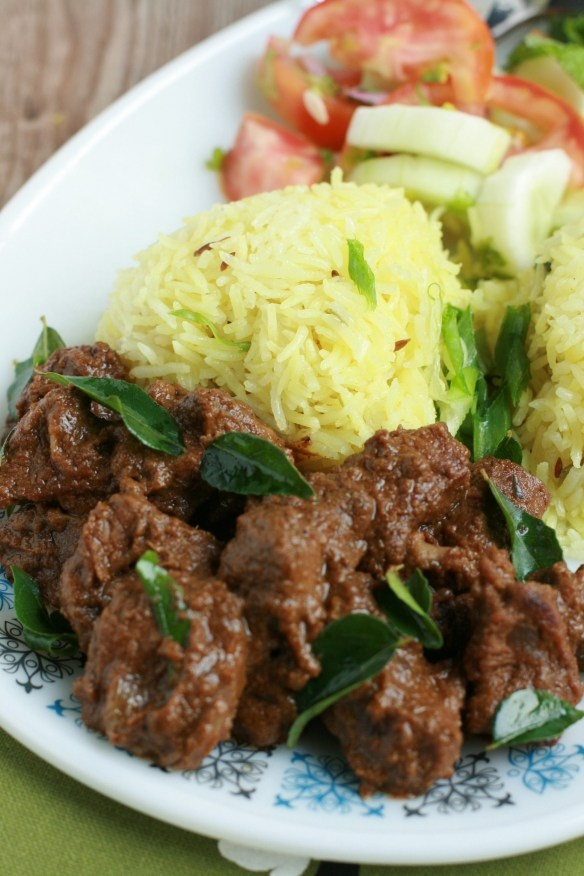 Garlic ginger beef