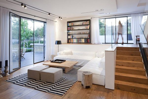 modern family house ramat 15 Inspiring Home Design in Israel Blurring Indoor/Outdoor Boundaries