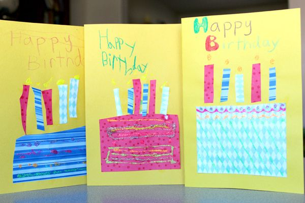 40 homemade cards for kids to make including birthdays, holidays, and thank you cards    Tinkerlab