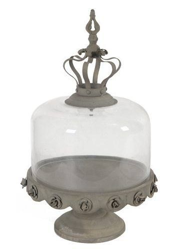 Cake Stand with Glass Dome $76.99 www.cakestandsgallery.com - Cake Stands Ornate