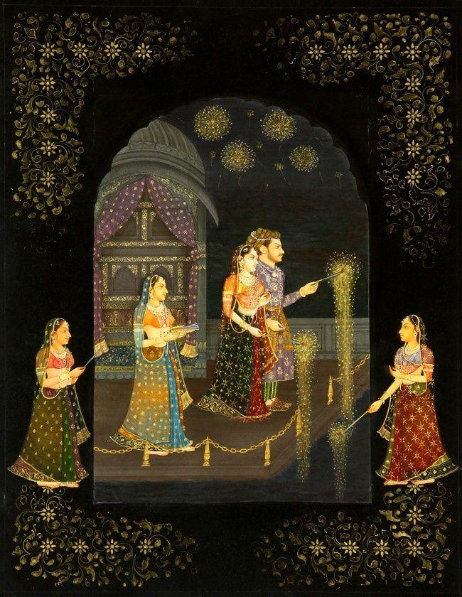 Celebrating Deepawali at the Palace