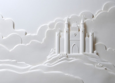 Paper Sculpture by Carlos Meira