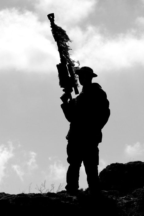 marine scout sniper u2026   if you see this then you u0026 39 re either