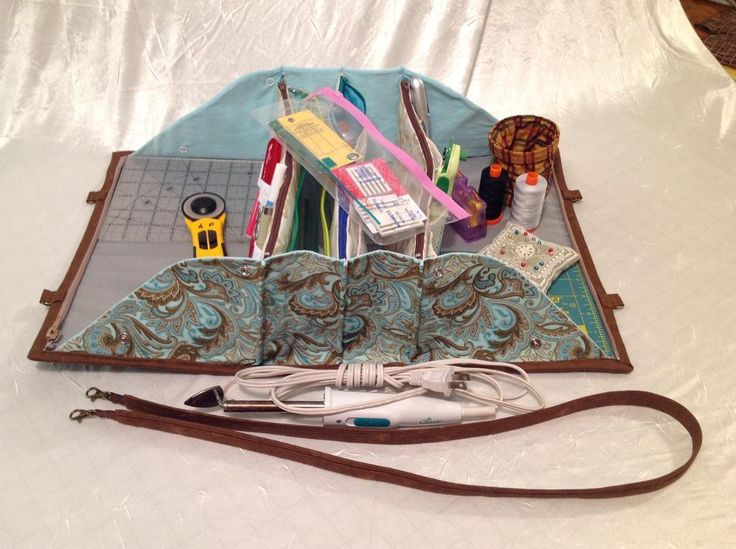 (7) Name: 'Quilting : Quilters Organizer Bag