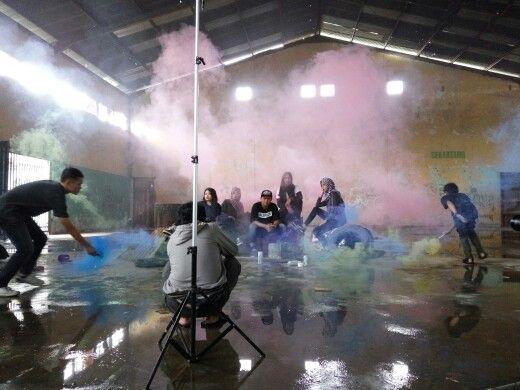 #smokebomb #photoconcept #behindthescene #sciencetena