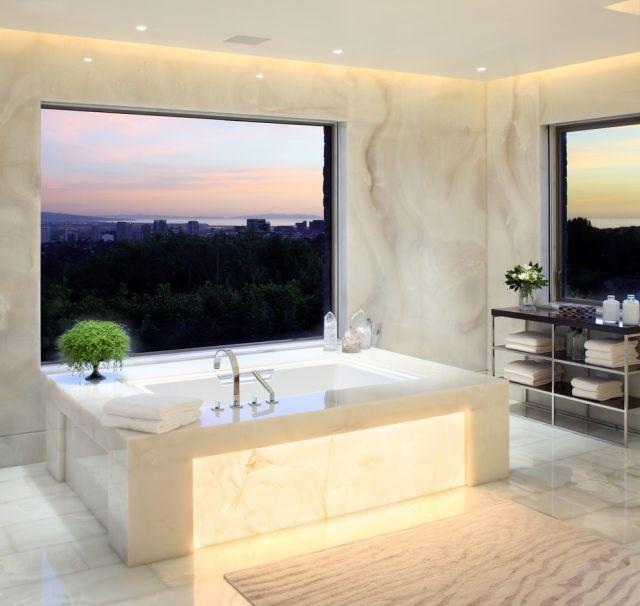 Beautiful  Ideen f r indirekte Beleuchtung an Wand und Decke