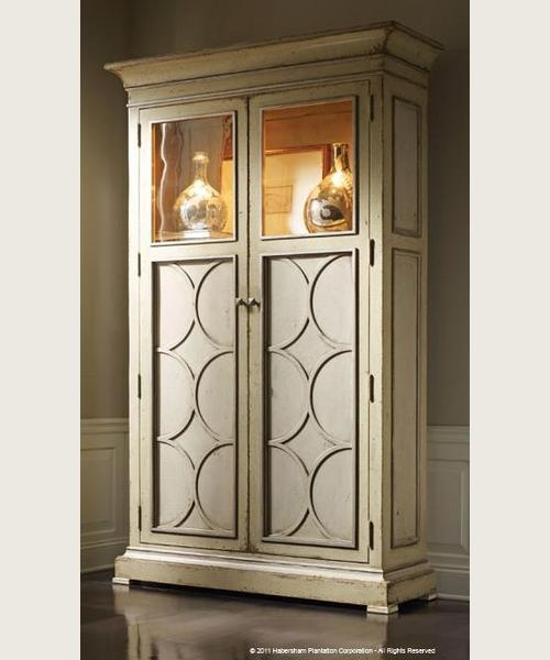 Shop For Habersham Plantation Corporation Cosmopolitan Display Cabinet And Other Living Room Cabinets At Walter E Smithe In 11 Chicagoland Locations