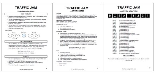 how to solve traffic jam game