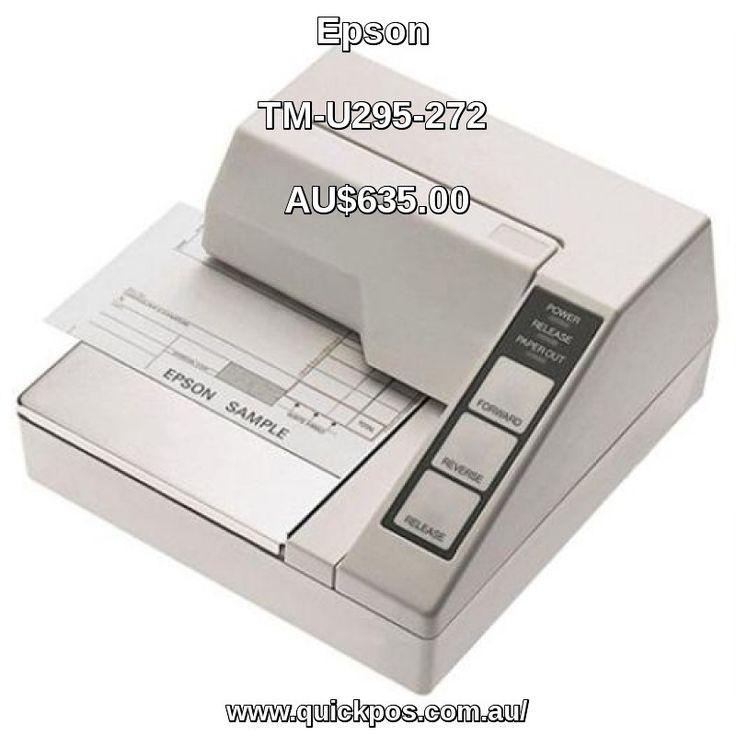 Buy EPSON TM-U295 RS232 ECW SLIP is Dot Matrx Receipt Printers At QuickPOS. AU$635.00