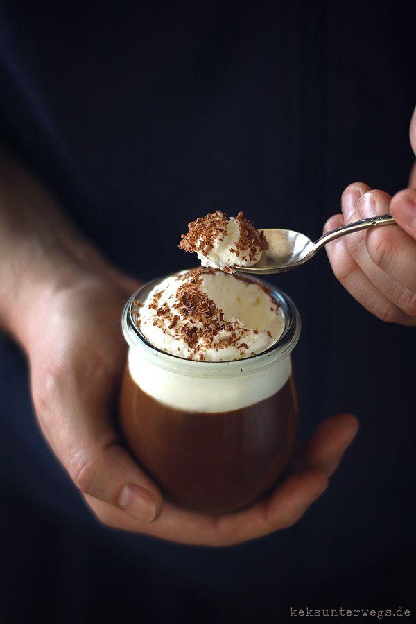Five Minute Mousse au Chocolate @yumlaut.de