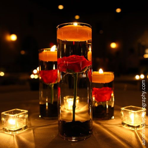 Floating Rose Centerpiece: 73 Best Images About Unity Candles On Pinterest