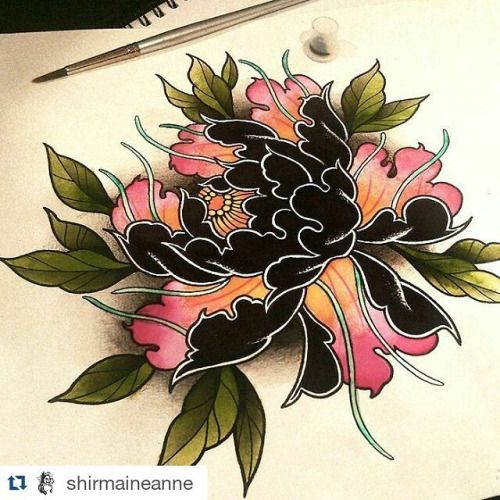 Another Cover Up From Today Thanks Tattoo Fixers: 25+ Best Ideas About Japanese Peony Tattoo On Pinterest