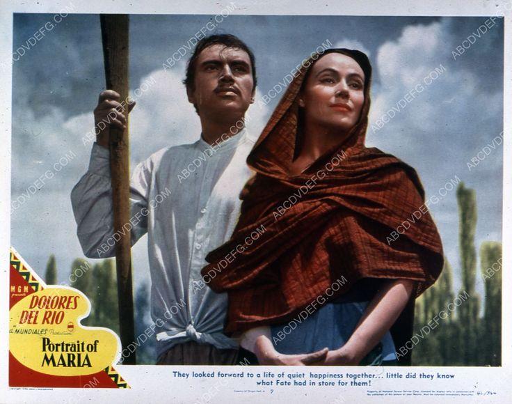 Dolores Del Rio film Portrait of Maria 35m-3081