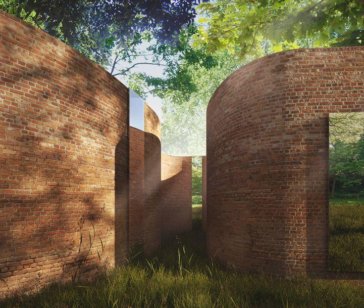 curvy walls thomas phifer and partners: madison house, wisconsin