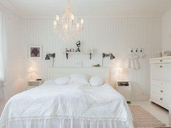 Bilder, Sovrum, Vitt, Lampa, Säng - Hemnet Inspiration