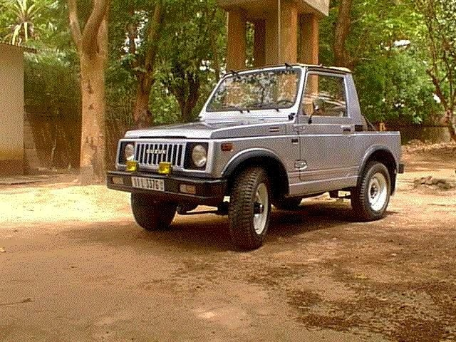 Suzuki SJ 410, 1984.  Still have one of these with pink and purple flames.  Too bad it doesn't run at the moment.