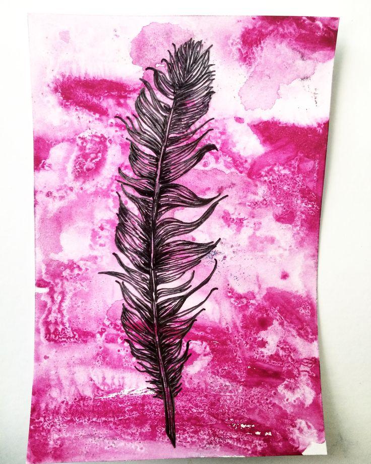 Feather (Molly Burnip) www.mollyburnipart.com