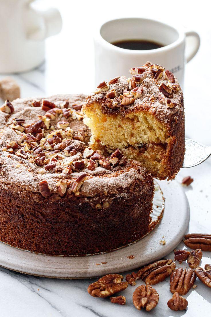 Greek Yogurt Coffee Cake Love And Olive Oil Recipe In 2020 Coffee Cake Yogurt Coffee Cake Recipe Coffee Cake Recipes