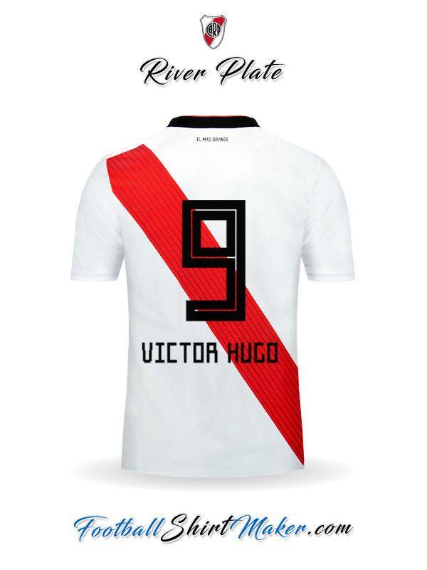 24c10fd1f9d7c Crear Camiseta de River Plate 2018 19 con tu Nombre