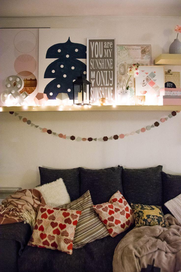 A Christmas / winter atmosphere for living room  – Decoration de Noël