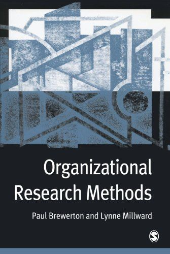 Organizational research methods : a guide for students and researchers |  151.95 BRE on line
