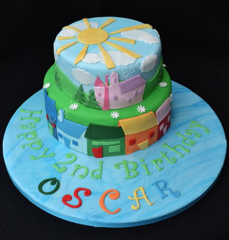 Birthday Cake For Zeny ~ Balamory cake google search maternity pinterest and birthday cakes