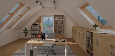 Auch das Dachzimmer ideal nutzen mit Möbel und Schränke nach Maß für jede Dachschräge!