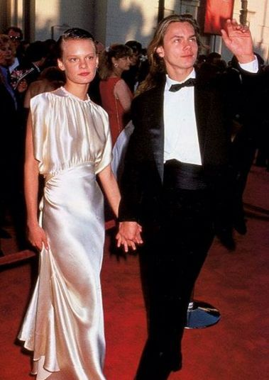 The most beautiful dress -Martha Plimpton and River Pheonix