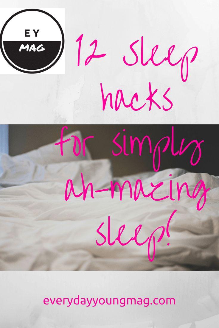 12 SLEEP HACKS FOR AH-MAZING SLEEP!!